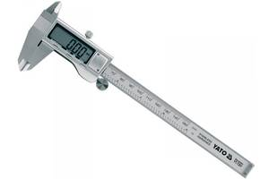 YАТО Штангельциркуль електронний , l= 150 мм, точн. ± 0,03 мм