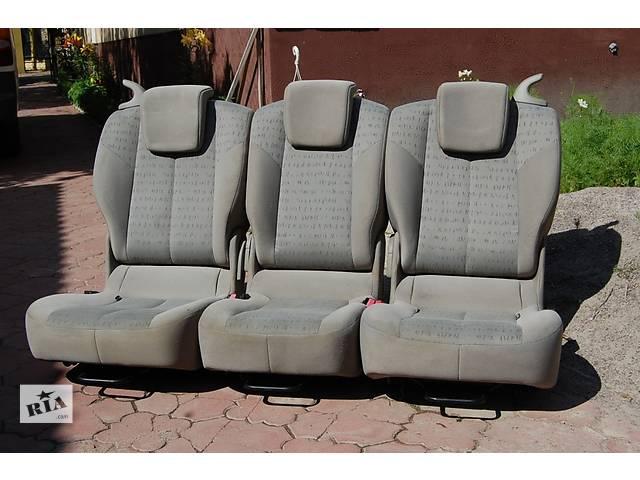 бу  Задние сидения трансформеры комплект из 3 штук Volkswagen Caddy в Любомле