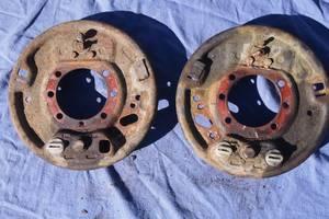 Защитный кожух тормозного диска для Mercedes308 1994рв на мерседес 308 опорный диск основа накладок защина тормозная