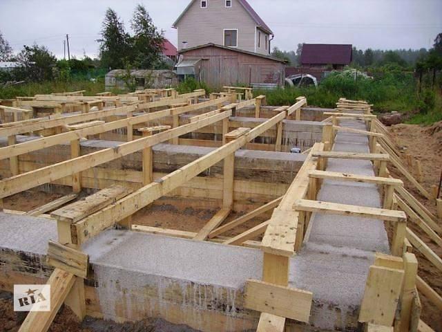 купить бу Заливка фундамента, бетонные работы Киев в Киеве