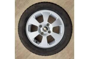 ЗАПАСКА Chevrolet orig R15 4x114 6j ET44 Lacetti Nubira Шевроле колесо