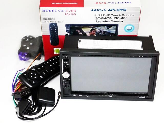 бу 2din магнитола Pioneer 8768 GPS, 4Ядра, 16Gb ROM, 1Gb RAM, Adnroid в Днепре (Днепропетровск)