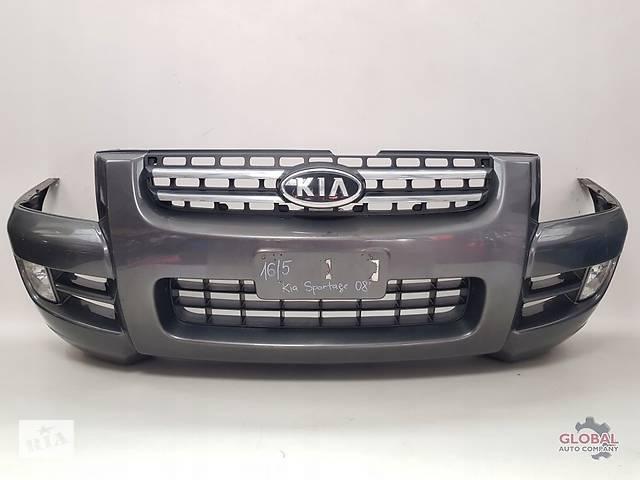 купить бу Б/у Бампер передній Kia Sportage 2005р в Львове