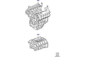 б/в блоки двигуна Land Rover Range Rover Sport