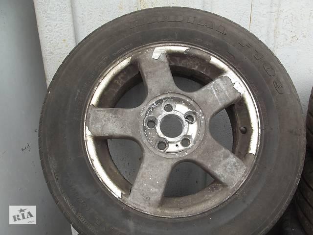 купить бу Б/у Диск с шиной (Титаны)  R-15 5x98 для Fiat Scudo  1996-2004 г. в Ковеле