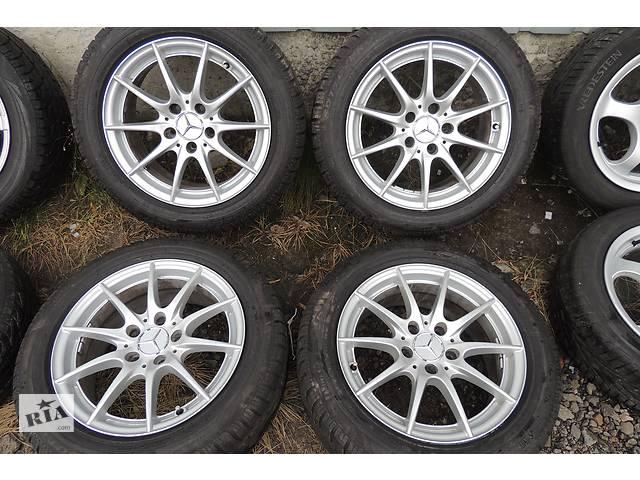 продам Б/у Диски Mercedes R16 5x112 7j ET43 Vito Viano W638 W639 W204 W212 W124 бу в Львове