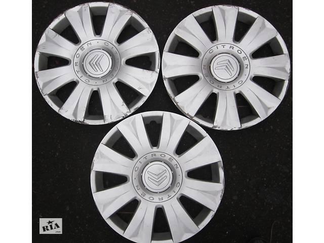 Б/у колпак / ковпак на диск R15 для легкового авто Citroen, модель INCA , оригинал.- объявление о продаже  в Ровно