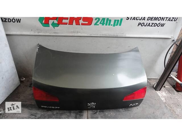Б/у кришка багажника для Peugeot 607 2000-2010- объявление о продаже   в Україні