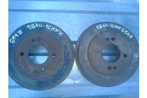 б/у Тормозные барабаны Hyundai Getz