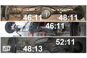 б/у Мосты ведущие задние Volkswagen Crafter груз.