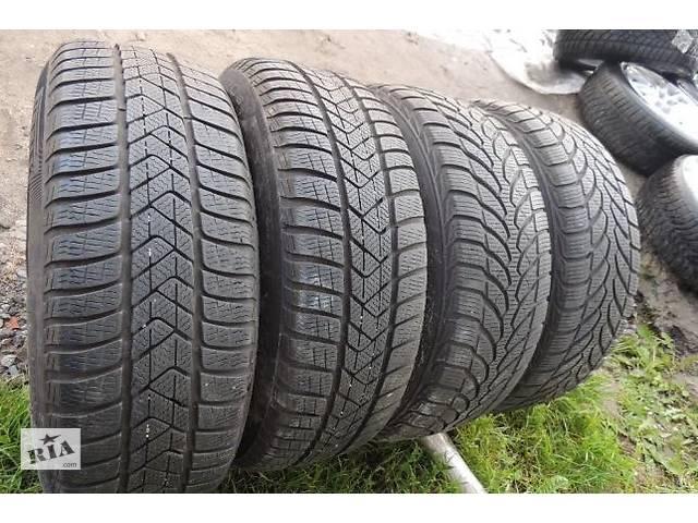 купить бу Б/у Зимние шины R16 8-6мм 205 65 60 55 225 с Германии дешево резина в Львове
