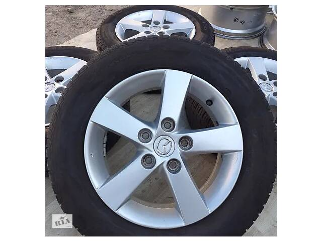 Б/в Диски Mazda R15 5x114 6J ET52 626 Premacy 3 5 6 Kia Honda Мазда Р15- объявление о продаже  в Львове