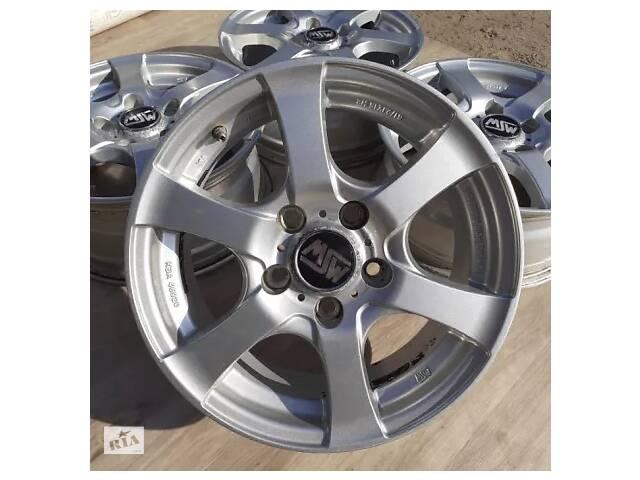 Б/в Диски R15 5x114.3 6,5j ET45 Mazda 3 6 Premacy 626 MPV Renault Megane- объявление о продаже  в Львове