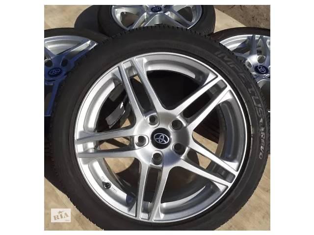 купить бу Б/в Диски Toyota R17 5x114.3 7j ET48 Corolla Camry Auris RAV4 Suzuki SX4 в Львове