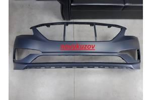 Бампер передний на Hyundai Sonata LF с 2014 г.- 2017 г.