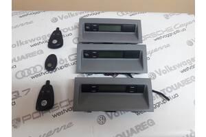 Блок панель управления автономной печкой Вебасто в комплекте с пультом 7L6919044S5J6 для Volkswagen Touareg 2003-2009