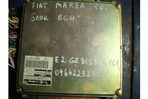 б/у Блоки управления двигателем Fiat Marea