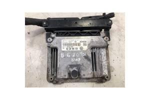 Блок управления двигателем VW Passat B6, 2.0TDi, BMP, 03G906021NK