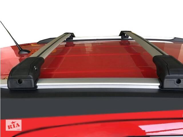 BMW X5 F-15 2013-2018 гг. Поперечный багажник на интегрированые рейлинги (с ключем) Черные- объявление о продаже  в Черновцах