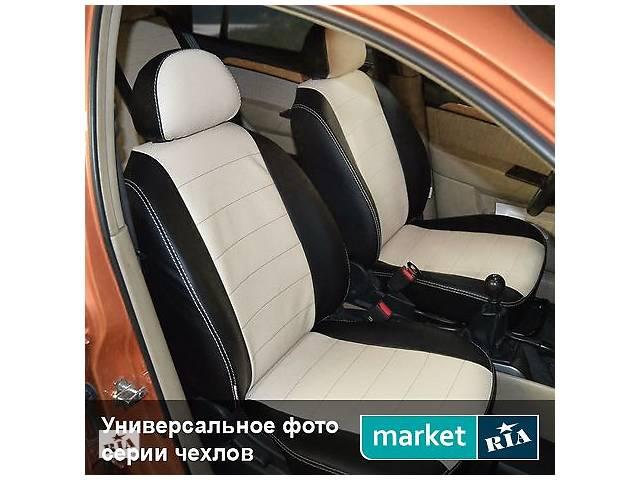 купить бу Чехлы на сиденья Kia Cerato из Экокожи 2013-2017 (AVTOMANIA) в Вінниці