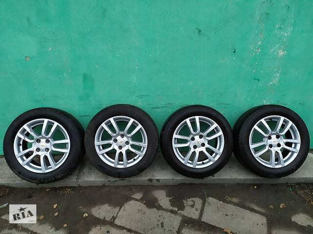 продам Chevrolet Aveo t300 11 - диски колеса с резиной Barum 205 55 r16 бу в Чернігові
