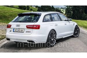 Новые Накладки бампера Audi A6