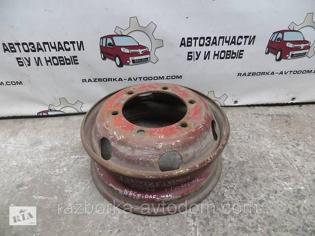 Диск колесный спарка R17.5 Iveco EuroCargo Man Daf (1991-2000) 5,25Jx17.5 ЦО=202мм , 6 отверстий- объявление о продаже  в Кременчуці