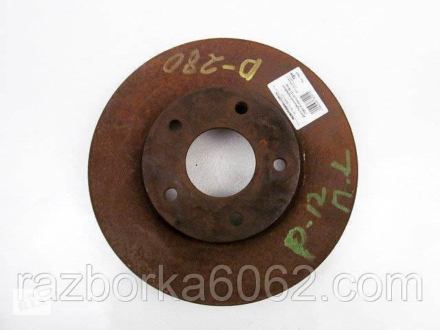 продам Диск тормозной передний D280 Nissan Primera (P12) 02-09 (Ниссан Примера П12)  402064U107 бу в Киеве