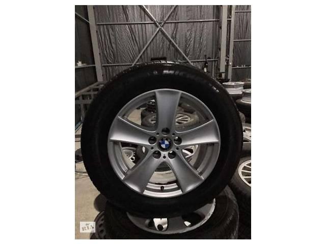 продам Диски BMW X5 5*120 R18. Резина зимняя MICHELIN 255/55/R18 бу в Ужгороді