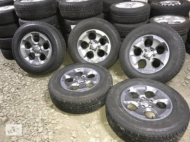 бу Диски бу Jeep Wrangler 5/127 R18 7.5j ET44 (5шт) + шины Bridgestone Dueler H/T в Луцке