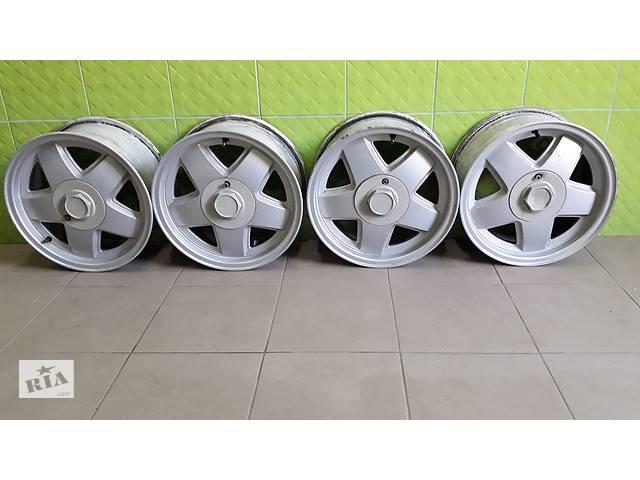 купить бу Диски комплект 6J R15 литьё 15*6/4*100/45/56.6 Chevrolet Aveo (комплект 4 шт.) в Тернополі