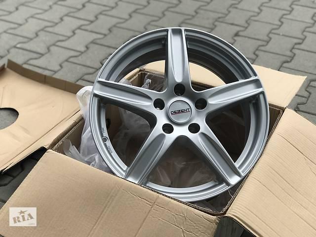 купить бу Диски новые Dezent L 5/115 R17 7J ET43 DIA70.2 silver Opel Astra J (1.7 cdti, 2.0 cdti) в Луцке