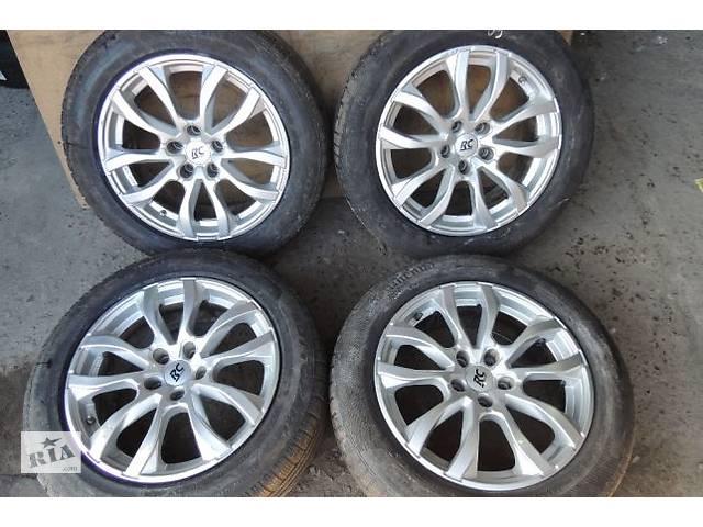 купить бу Диски R17 5x112 7,5j ET37 Audi A6 A5 Q5 Passat B8 Skoda SuperB Kodiaq в Львове