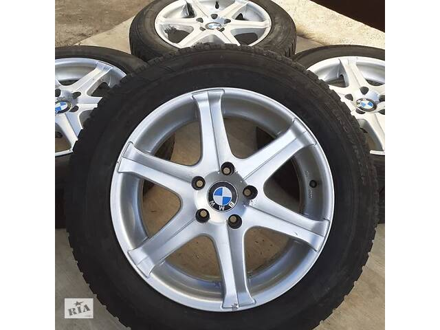 продам Диски + шини BMW R17 5x120 X3 X5 E90 F30 F25 Opel Insignia БМВ VW T5 бу в Львове