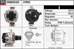 Генераторы/щетки Ford Transit