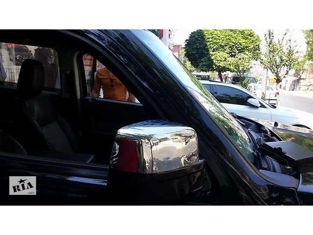 бу Jeep Cherokee/Liberty 2007-2013 гг. Накладки на зеркала (2 шт, нерж.) в Черновцах