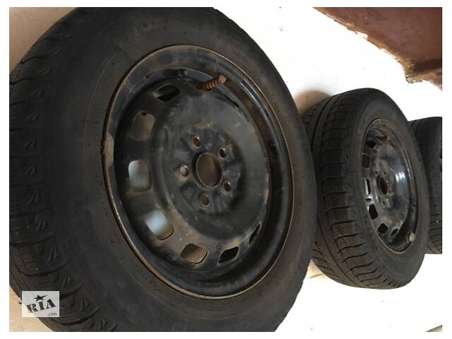 Колеса 14/185/65 5-100 Michelin- объявление о продаже  в Полтаві