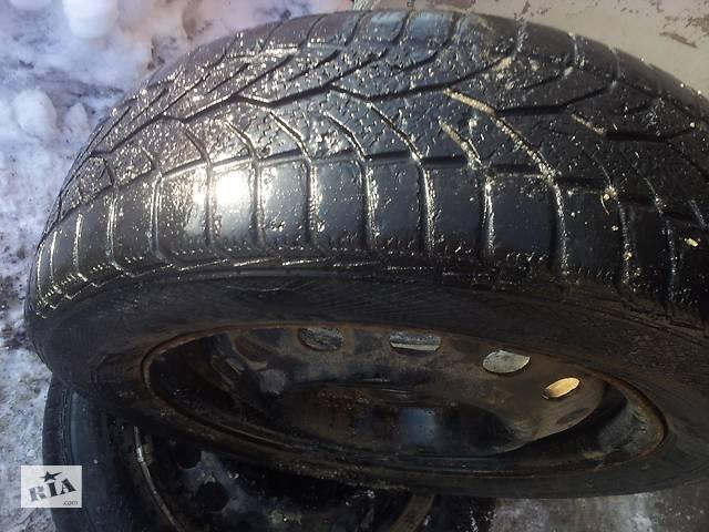 бу Колесо в зборі диск R15 4 114.3 D67 з зимовою гумою GISLAVED 195 60 15 для KIA ХЮНДАЙ Mitsubishi на запаску в Кам'янському (Дніпродзержинськ)