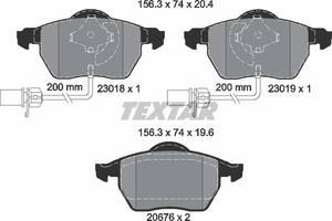 Колодки тормозные (передние) Audi A4/A6/Skoda Superb/VW Passat 1.9TDI/2.5TDI 96- (с датчиками)
