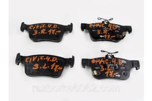 Колодки задние комплект как новые Honda Civic 4D (FC) 15- (Хонда Сивик 4Д 15-)  43022TBAA02