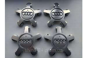 """Колпачки заглушки на диски Audi """"звезда"""" 4F0 601 165N 135/57/13 мм"""