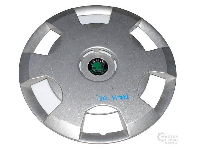 Б/у Колпак колесный R15 SKODA FABIA 99-07  6Y0601147B- объявление о продаже  в Харкові