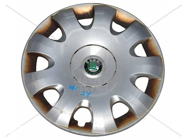 Колпак колесный R15 SKODA OCTAVIA A5 04-13  1Z0601147A- объявление о продаже  в Вінниці