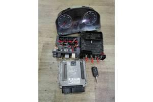 Комплект електроніки 1.9 TDI 1K0937084D 03L906018C Фольксваген Гольф 5 2003-2008