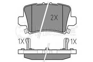 Гальмівні колодки комплекти Honda Civic Hatchback