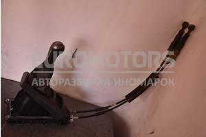 Кулиса переключения КПП 5-ступ с тросами комплект Nissan Note 1.4 16V (E11) 2005-2013 34108AX260