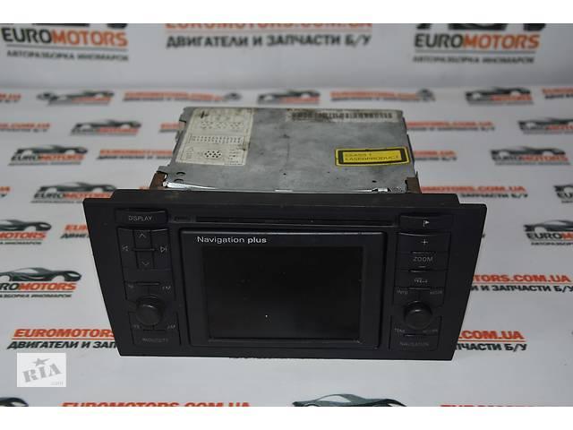 магнитола Radio Cd Tv Navigation Plus Audi A6 C5 1997 20 бу