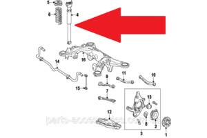 Новые Амортизаторы задние/передние Mercedes ML-Class