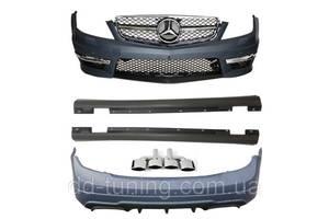Пороги Mercedes AMG