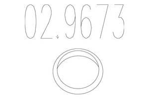 Монтажное кольцо FORD MONDEO I (GBP) / FORD ORION III (GAL) 1989-2002 г.